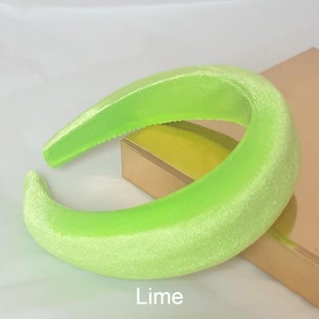 Padded Velour Hairband 42mm