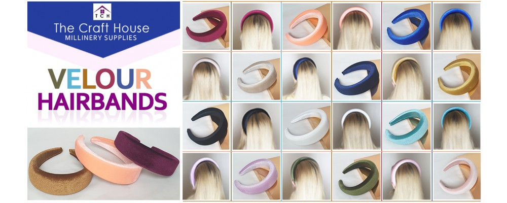 Velour Hairbands