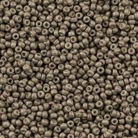 Miyuki Round Seed Beads 11/0 Matte Metallic Tarnish