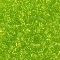 Miyuki Round Seed Beads 6/0 Transparent Lime