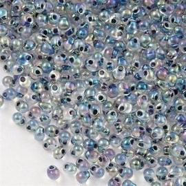 Miyuki Drop Fringe Seed Beads Crystal Noir AB
