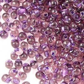 Miyuki Drop Fringe Seed Beads Lavender Lined Purple