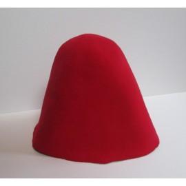 Felt Hood - Poppy Red