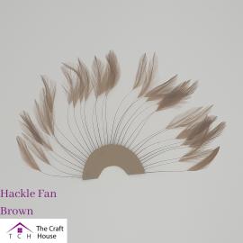 Hackle Fan Brown