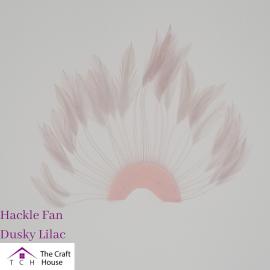 Hackle Fan Dusky Lilac