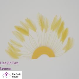 Hackle Fan Lemon