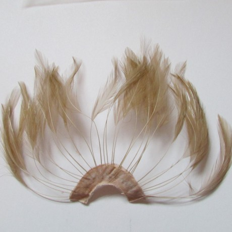 Hackle Fan Almond