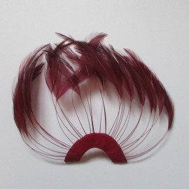 Hackle Fan Cranberry