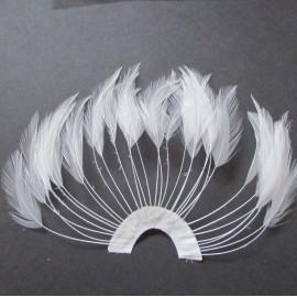 Hackle Fan Ivory
