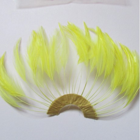 Hackle Fan Yellow
