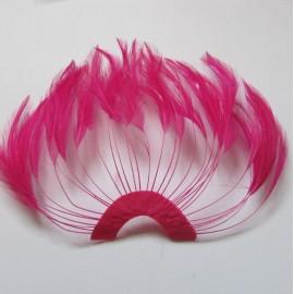 Hackle Fan Sweet Pink