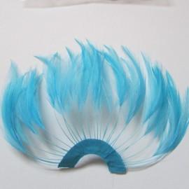 Hackle Fan Turquoise