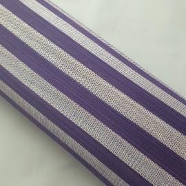 Jinsin Natural & Purple - per half metre
