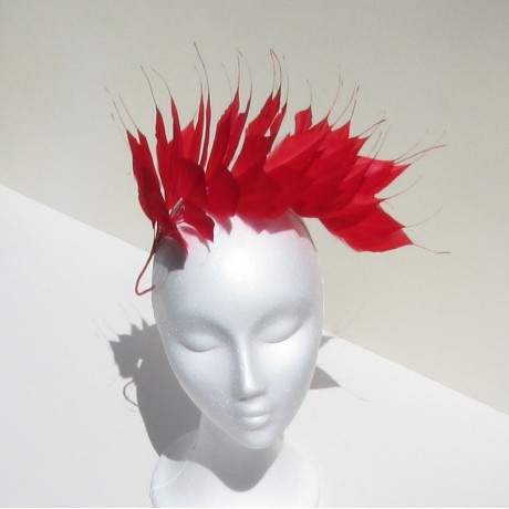Large Coque Feather Mount