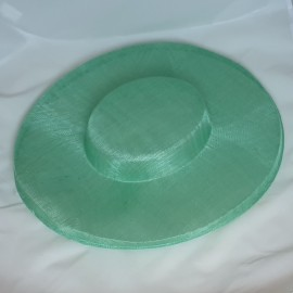 Sinamay Boater Hat 39cm x 41cm