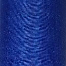 Sinamay Plain Cobalt Blue - per half metre