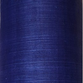 Sinamay Plain Denim Blue - per half metre