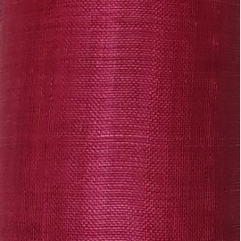 Sinamay Plain Raspberry Red - per half metre