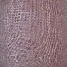 Sinamay Plain Dusky Lilac - per half metre