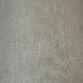 Sinamay Plain Ivory - per half metre