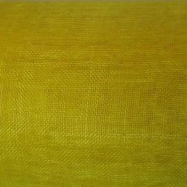 Sinamay Plain Mango Yellow - per half metre