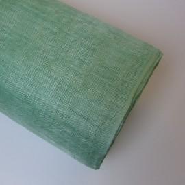 Sinamay Plain Mint Green - per half metre
