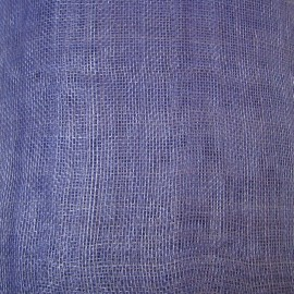 Sinamay Plain Periwinkle Blue - per half metre