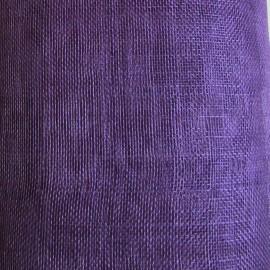 Sinamay Plain Cadbury Purple - per half metre