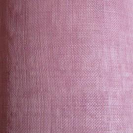 Sinamay Plain Primrose Pink - per half metre