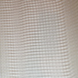 Window Sinamay Large Ivory - per metre