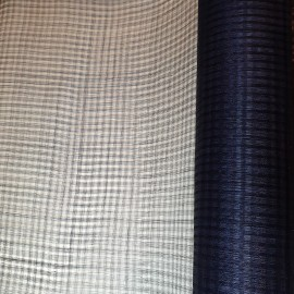 Window Sinamay Large Navy - per half metre